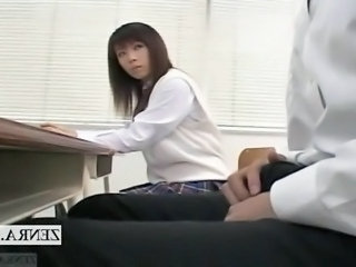Asian  Japanese Teacher Classroom
