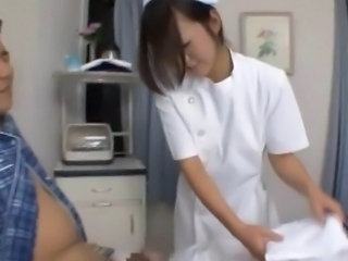 Asian Nurse Skinny Uniform