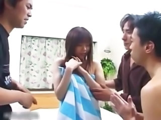 Asian Gangbang Hairy Japanese Teen