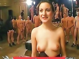 Bukkake Gangbang Party Amateur