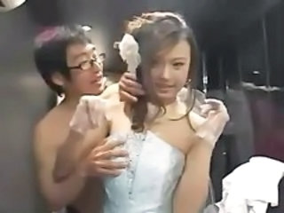Asian Babe Bride Cute Wedding