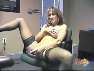Amateur Dildo  Stockings