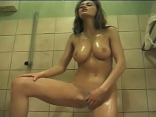 European German Masturbating Natural Showers Sister Vintage German