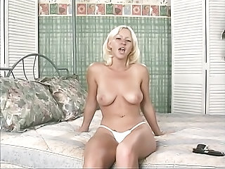 Amazing Blonde Natural Panty Teen
