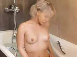 Bathroom Cute Masturbating Small Tits Solo Teen