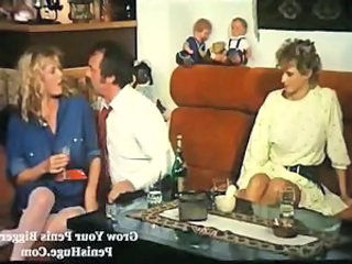 Daddy Drunk European German Old and Young Teen Threesome Vintage German