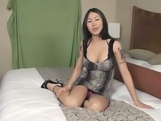 Asian Babe Solo Tattoo