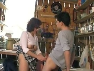 European French Handjob Kitchen Mature Mom Old and Young Grandpa French