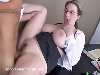 Big Tits Clothed Glasses Hardcore  Natural Teacher