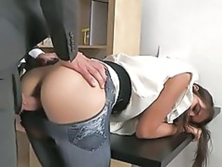 Clothed Doggystyle Hardcore Teen
