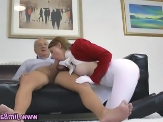 Babe Big Tits Blowjob British European Old and Young Teen British