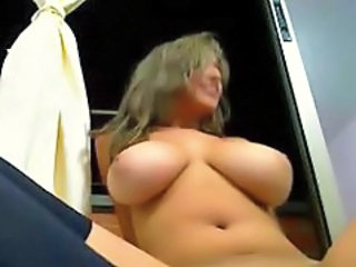 Amazing Big Tits Dildo Latina Masturbating