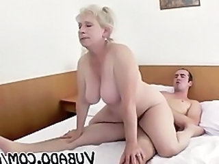Big Tits European Mature Riding