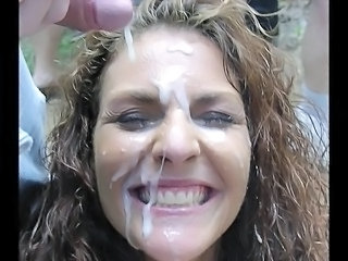 Bukkake Facial  Wife