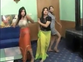 Dancing Homemade Indian