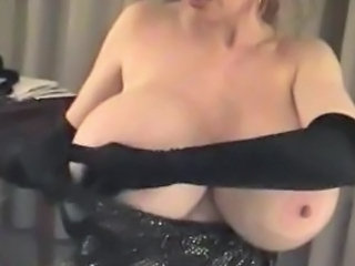 Big Tits European Granny Mother