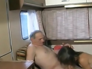 Blowjob European Old and Young Wife