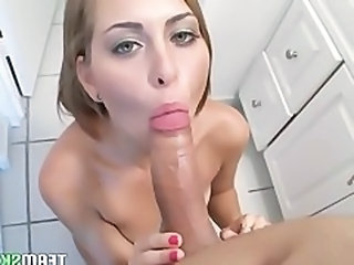 Amateur Blowjob Brunette Facial Pov