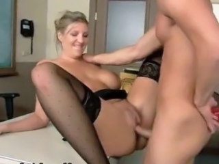 Big Tits European Hardcore  Silicone Tits Stockings Teacher