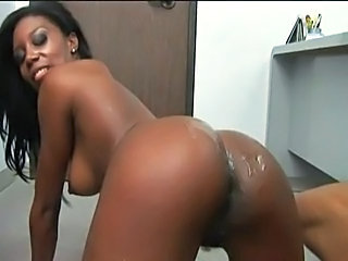 Ass Babe Big Tits Ebony Office