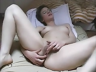 Amateur European French Masturbating  French
