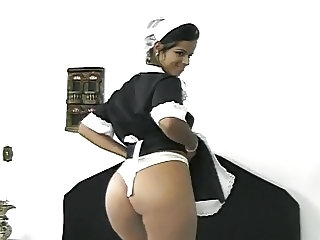 Ass Babe Maid Teen Uniform
