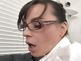 Anal European Glasses  Office Secretary