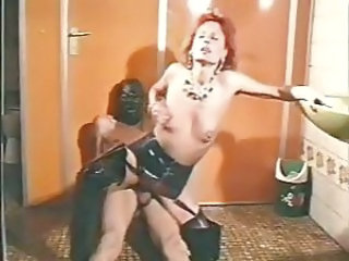 Latex  Redhead Riding Vintage German