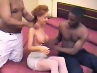 Amateur Big Tits Homemade Interracial Threesome Wife Amateur