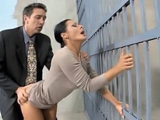Clothed Doggystyle  Prison Wife