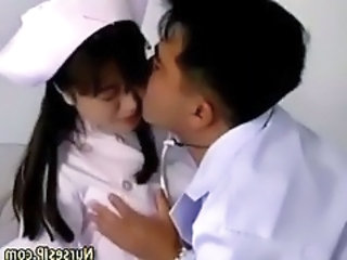 Asian Doctor Nurse Teen Uniform