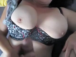 Amateur Big Tits Handjob Homemade Mature Natural Nipples Pov