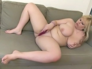 Big Tits Masturbating  Natural  Toy