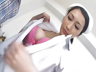 Asian Big Tits Cute Nurse Uniform