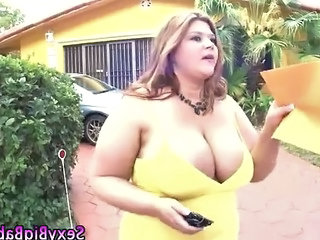 Big Tits  Mom Natural Outdoor Huge