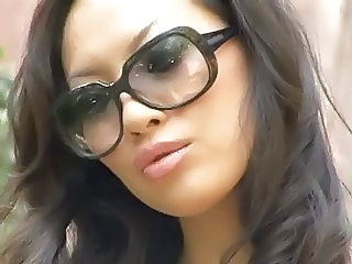 Babe Glasses Interracial