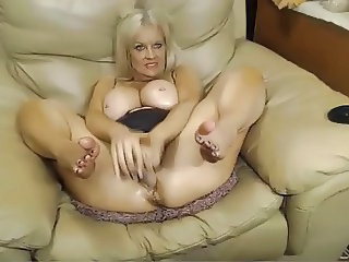 Big Tits European Masturbating Mature Natural Webcam