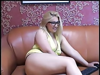 Chubby Glasses  Stripper Webcam