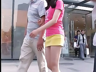 Asian Chinese Public Skirt Upskirt