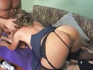 Ass Blowjob  Stockings