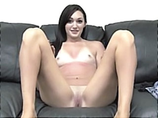 Brunette Casting Facial European Small Tits Teen