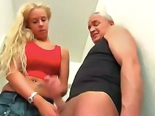 Daddy Daughter Handjob Old and Young German