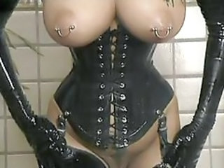 Corset Fetish Latex Piercing