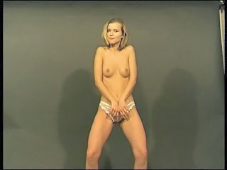 Amateur Casting European Solo Stripper Teen