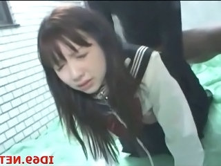 Asian Clothed Doggystyle Hardcore Japanese Pain Student Teen Uniform