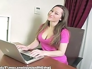 Babe Secretary Jerk