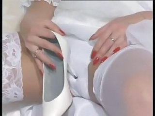 Bride Fetish  Panty Stockings Vintage British