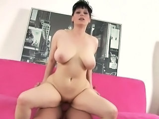 Big Tits Chubby  Mom Natural Riding