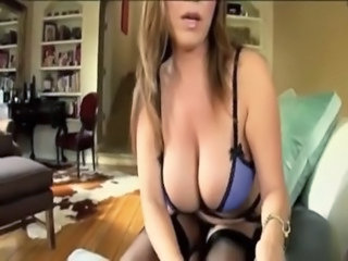 Amazing Big Tits Lingerie  Mom Natural Stockings Son Lingerie