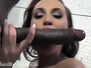 Babe  Blowjob Cute Interracial